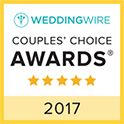 LA Harp WeddingWire Couples' Choice 2017