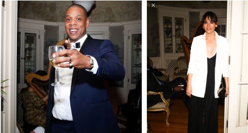 LA Harp Solange Knowles Party collage cropped